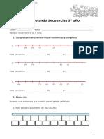 5° año  -  Matemática  -  guía  -  completar rectas