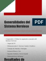 Clase 08 Generalidades del Sistema Nervioso