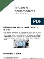 CPU - INTEL Y AMD