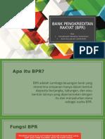 Bank pengkreditan rakyat (bpr)