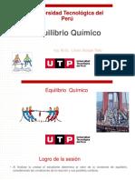 Diapositivas Tema. Equilibrio químico