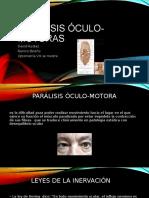 PARÁLISIS ÓCULO-MOTORAS