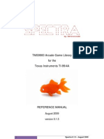 SPECTRA Reference Manual