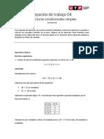 Separata04 - Estructuras condicionales simples