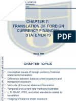Chapter 7. Translation of Foreign Currency Financial Statement