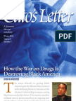 How the War on Drugs Is Destroying Black America, Cato Cato's Letter No. 1