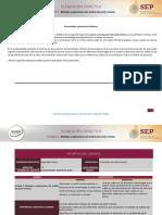 Planeación Didáctica Unidad 2.  Métodos y aplicaciones del análisis del perfil criminal