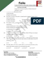 5. BHU-M.Sc. Question Paper 2010