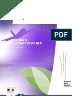Charte Achat Durable DGAC