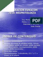 EUNACOM REUMATOLOGÍA 2014