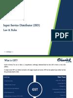 PPT -GST  ISD