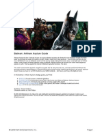 Arkham Asylum Strategy Guide - GAME GUIDE