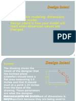 Design Intent Parametric