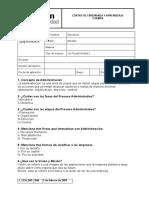Cesun Examen Administracion Unidad 2