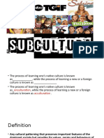 Subculture (1)