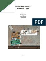 Robot Wall Sensors