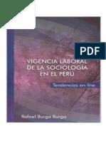 Vigencia Laboral de La Sociología en El Peru - Tendencias on line