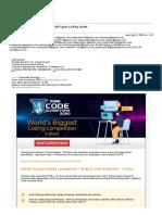 Quarantine and Upskill your Coding talent