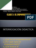 Clase 3 - Empowerment