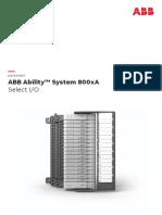 ABB Ability System 800xA Select IO datasheet