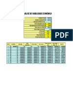 Cálculo da Viabilidade Econômica