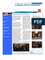 El Djazair Alumni Newsletter - December 2010