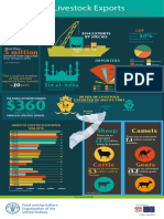 FAO Infographic, Somalia Livestock Exports