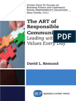 (Giving Voice to Values on Business Ethics and Corporate Social Responsiblity Collection) David L. Remund - The Art of Responsible Communication_ Leading with Values Every Day-Business Expert Press (2.pdf