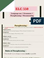 ELC550 WEEK 5_Language and Documenting