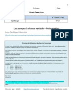 Questions Pompes Vitesse Variable Presentation