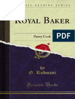 Royal Baker Pastry Cook