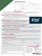 FSA Enrollment Form