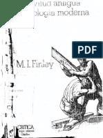 M. I. Finley - Esclavitud antigua e idealogía moderna.pdf