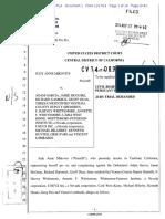 Civil Rights Complaint Pursuant to 42 USC Sec. 1983. Judy Anne Mikovits v. Adam Garcia, et. al. (Nov. 17, 2014)