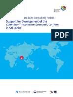 3. (ADB) Economic Corridor in Sri Lanka
