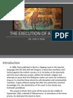 EXECUTION OF RIZAL