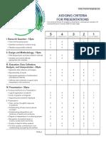 ISSF-Presentation-Rubric