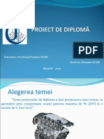 Prezentare proiect diploma motor model