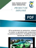 Prezentare proiect diploma suspensie,directie model
