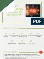 Food Transparency Blockchain