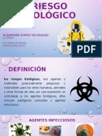 RIESGO BIOLOGICO ALEJANDRA