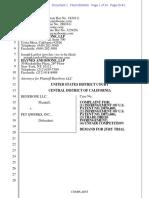 Benebone v. Pet Qwerks - Complaint