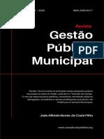 Revista Gestão Pública Municipal - abril 2020