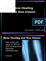 Bone Healing and Non Unions[1]