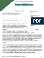Aborto séptico por Clostridium perfringens complicado con shock séptico