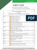 1-Agenda de Estudo _ Chines 28 dias