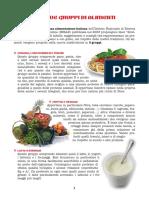 5 gruppi alimenti