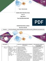 trabajo para entregar Formato para el desarrollo de la Tarea 2 Epistemologia