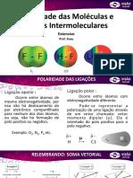 Polaridade e Forças Intermoleculares
