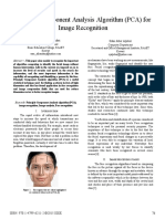 pca for image recognition
